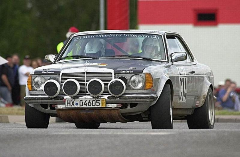 W123 rallye