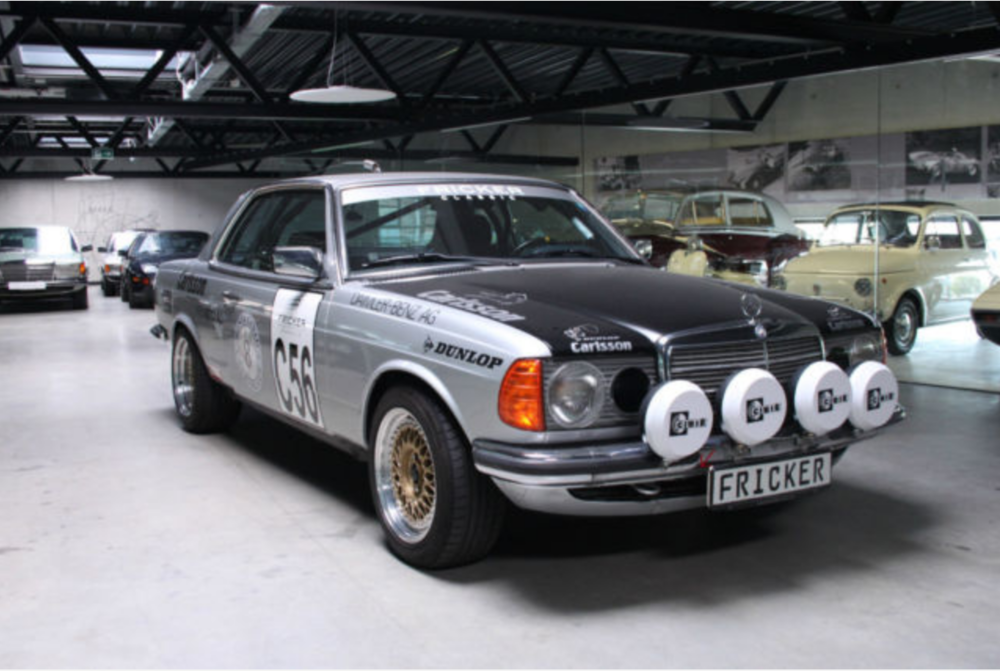 W123 MERCEDES-BENZ RALLY MODEL ACROPOLIS 1980 PARIS-DAKAR 1981 ...